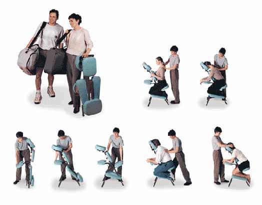 Golden ratio the quicklite massage chair